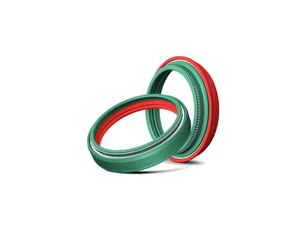 simering prachovka do pr vidlice 49 x 60 x 10 mm showa 49 mm dc skf zeleno cervene i419893
