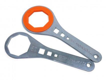 Klíč na přední vidlice (sada ocel + plast)