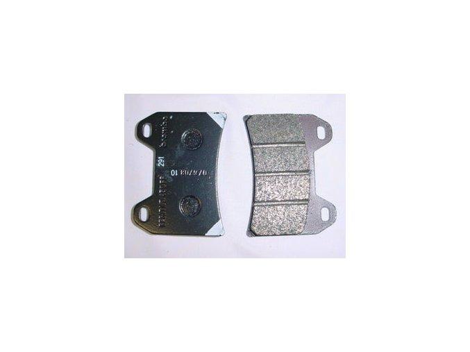 0038496 oem front brake pads 2 pins gu01654630 320