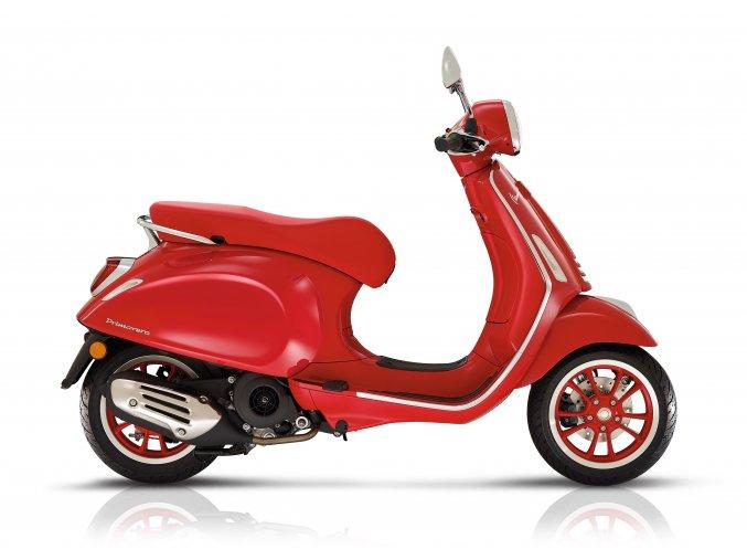 Vespa Primavera125 (RED) Red R7 894