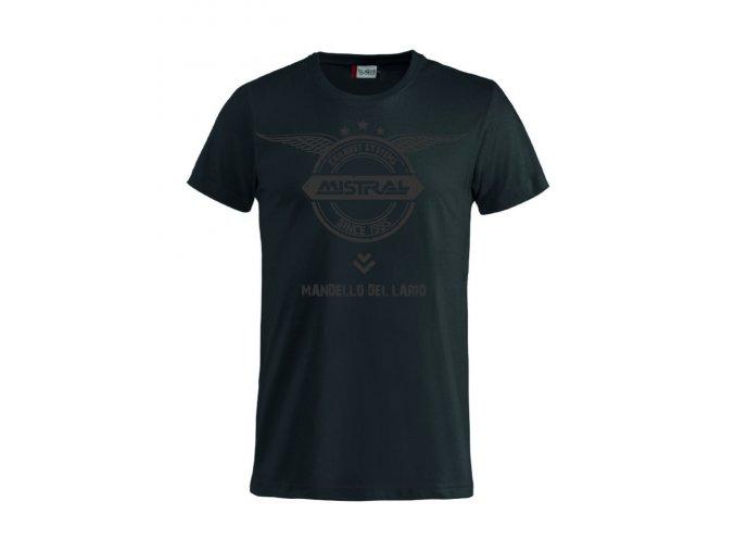 Tričko Mistral Černé