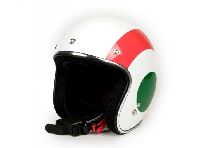 606378M04I Helm VESPA 2.0 Jethelm Flag Italien