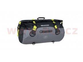 vodotesny vak aqua t 50 roll bag oxford cerny sedy zluty fluo objem 50 l i359595