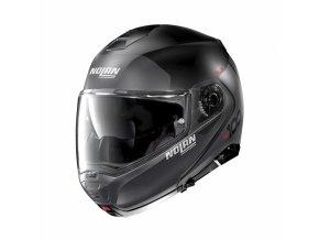 moto helma nolan n100 5 plus distinctive n com flat black 21