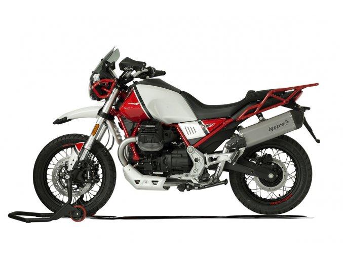 0019290 terminale sps carbon sx a304 satin moto guzzi v85 tt euro 4