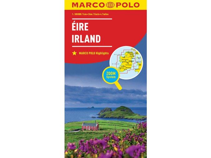 774 3 irsko 1 300 000 mapa s vyhlidkovymi trasami