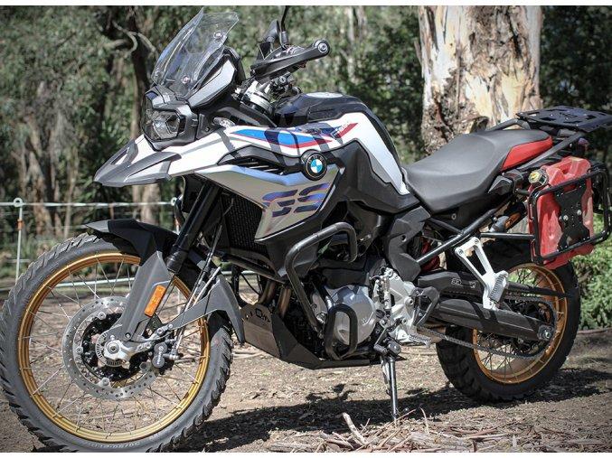 Kryt motoru Outback Motortek - BMW F850 GS / F750 GS (Barva Černá)