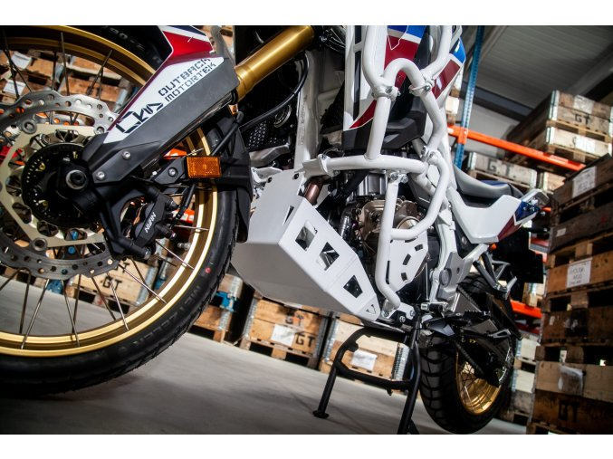 Kryt motoru Outback Motortek - Honda CRF1100L Africa Twin / Adventure Sports (Barva Černá)