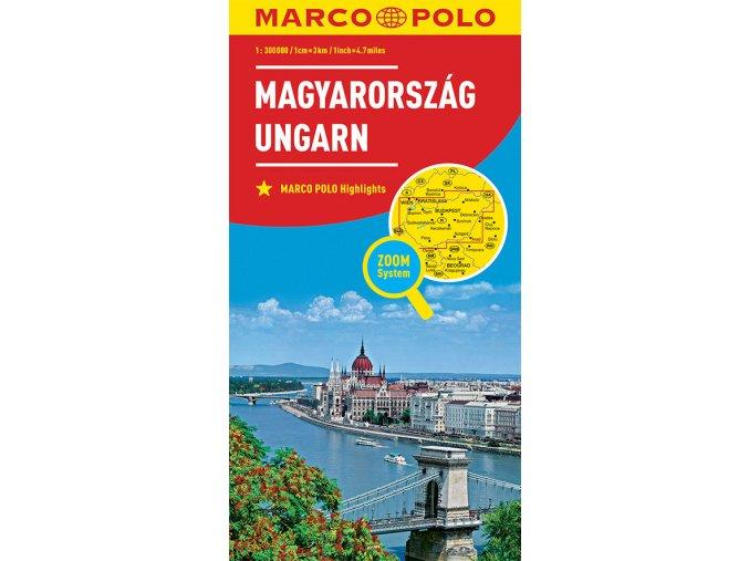 1683 4 madarsko 1 300 000 mapa s vyhlidkovymi trasami