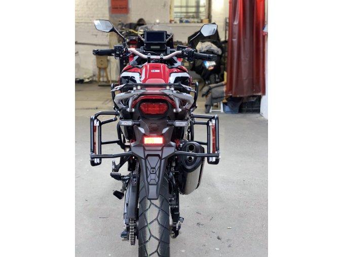 Nosiče kufrů / brašen Outback Motortek - Honda CRF1100 L Africa Twin Adventure Sports (Barva Matná černá, Typ nosiče Standard bez úchytů)