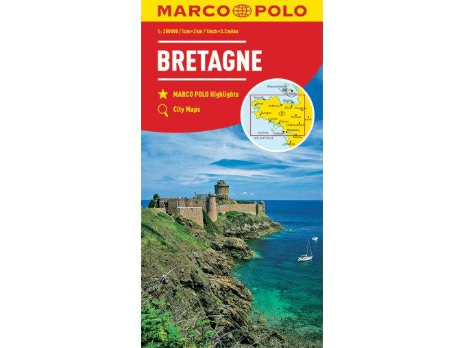 1866 2 bretan francie 1 200 000 mapa s vyhlidkovymi trasami