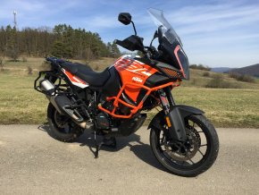 Horní padací rám Outback Motortek pro KTM 1290 R / S Super Adventure (Barva Oranžová KTM)
