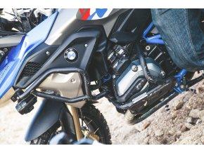 Horní padací rámy Outback Motortek pro BMW R1200GS LC (Barva Černá)