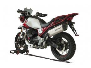 0019280 terminale sps carbon sx titanio moto guzzi v85 tt euro 4