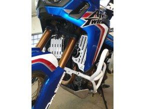 Kryty chladičů BUMOT Honda CRF1000 L Africa Twin / Adventure Sports (Barva Bílá)