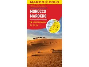 780 maroko 1 800 000 mapa s vyhlidkovymi trasami
