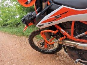 Padací rám Outback Motortek - KTM 690 (Barva Černá)