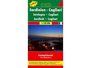 810 sardinie 1 150 000 mapa s vyhlidkovymi trasami