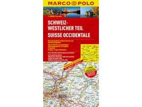 729 svycarsko zapad 1 200 000 mapa s vyhlidkovymi trasami
