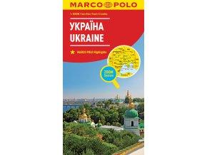 801 ukrajina 1 800 000 mapa s vyhlidkovymi trasami