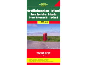 885 velka britanie irsko 1 700 000 mapa s vyhlidkovymi trasami