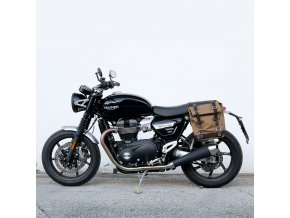 borsa laterale canvas telaio sx triumph speed twin 23