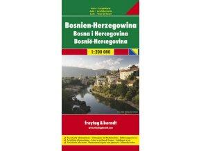 804 bosna a hercegovina 1 200 000 mapa s vyhlidkovymi trasami