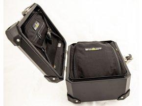 Kompletní svody 2-1 + tlumič výfuku X Black Oval - titan / karbon / ocel / černá ocel Ducati