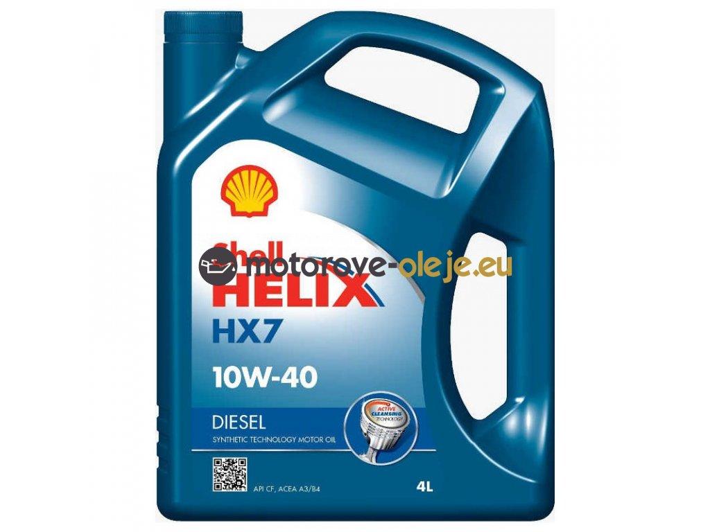 1604 shell helix diesel hx7 10w 40 4l