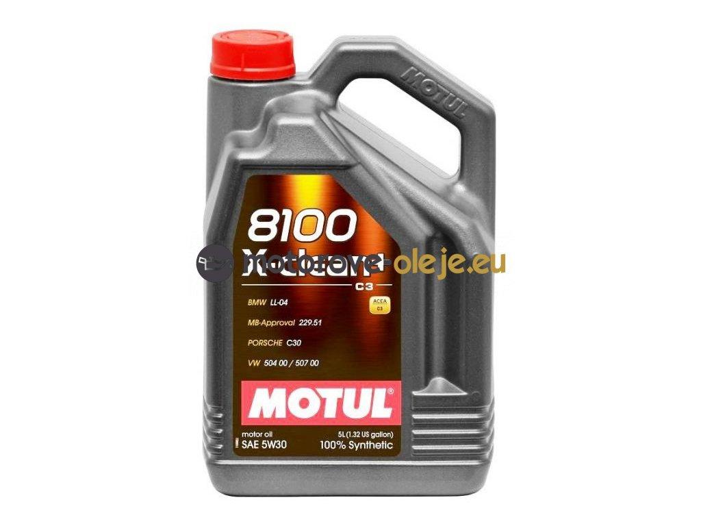 2195 1 motul 8100 x clean 5w 30 5l