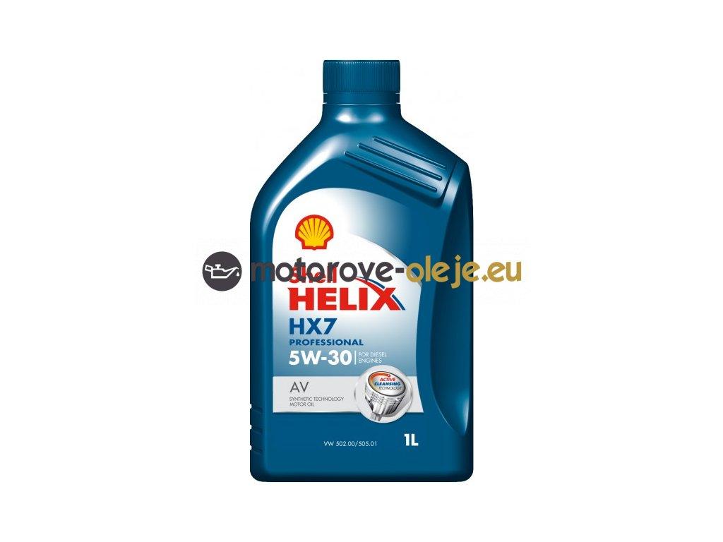 2423 shell helix hx7 professional av 5w 30 1l