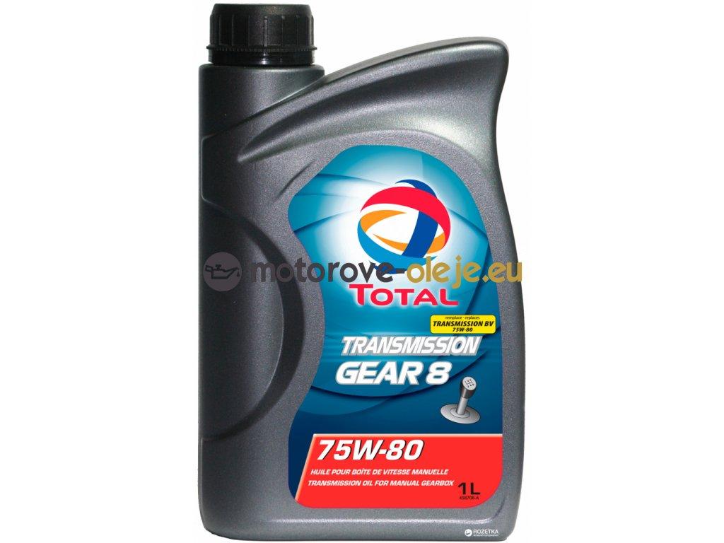 2534 total gear 8 75w 80 1l