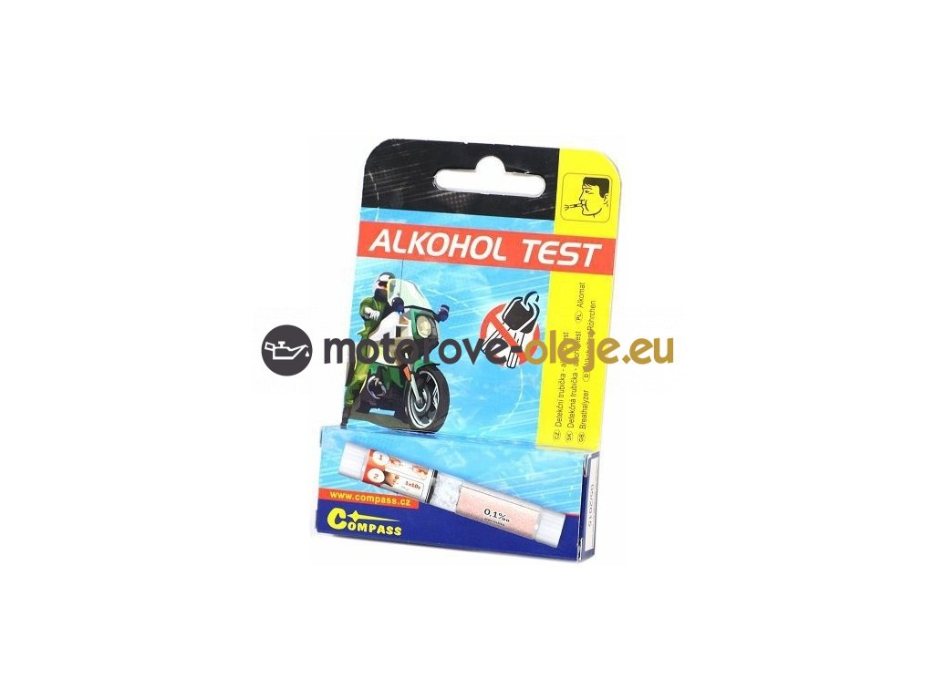 Detekční trubička - alkohol test COMPASS
