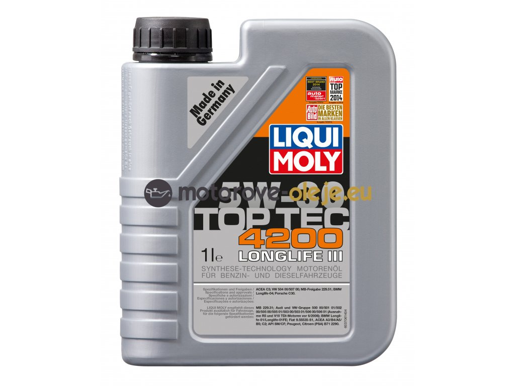 2681 liqui moly toptec 4200 5w 30 1l