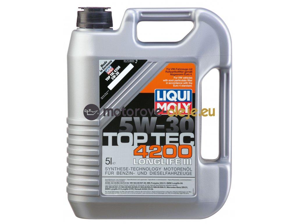 2684 liqui moly toptec 4200 5w 30 5l