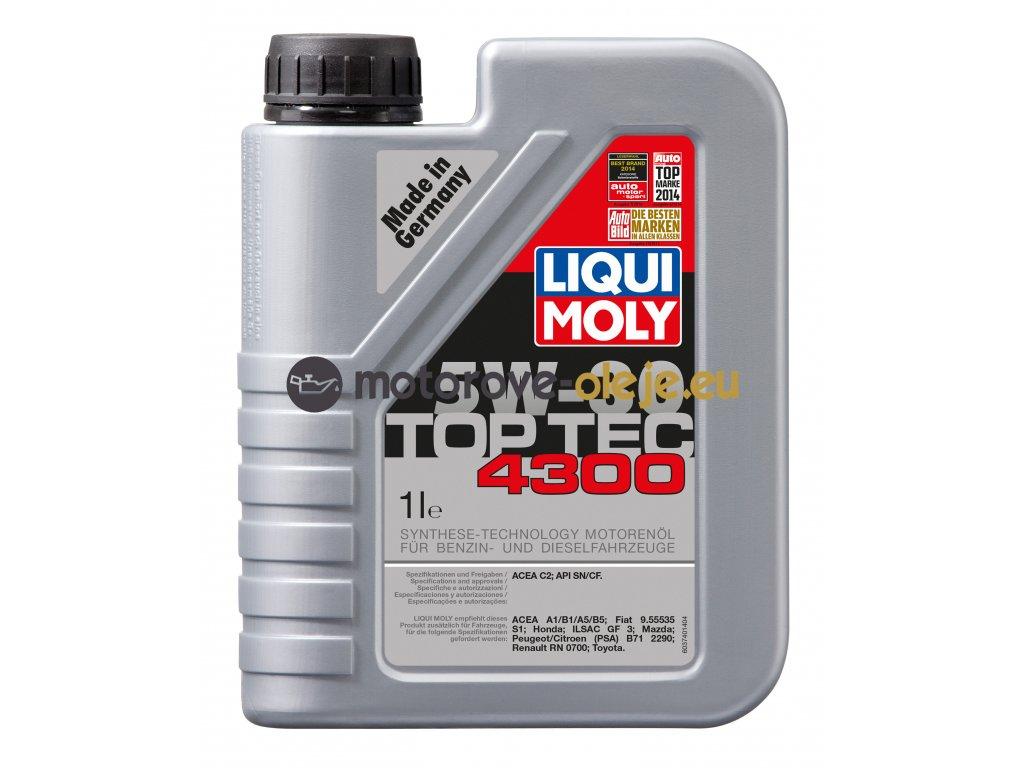 2693 liqui moly toptec 4300 5w 30 1l