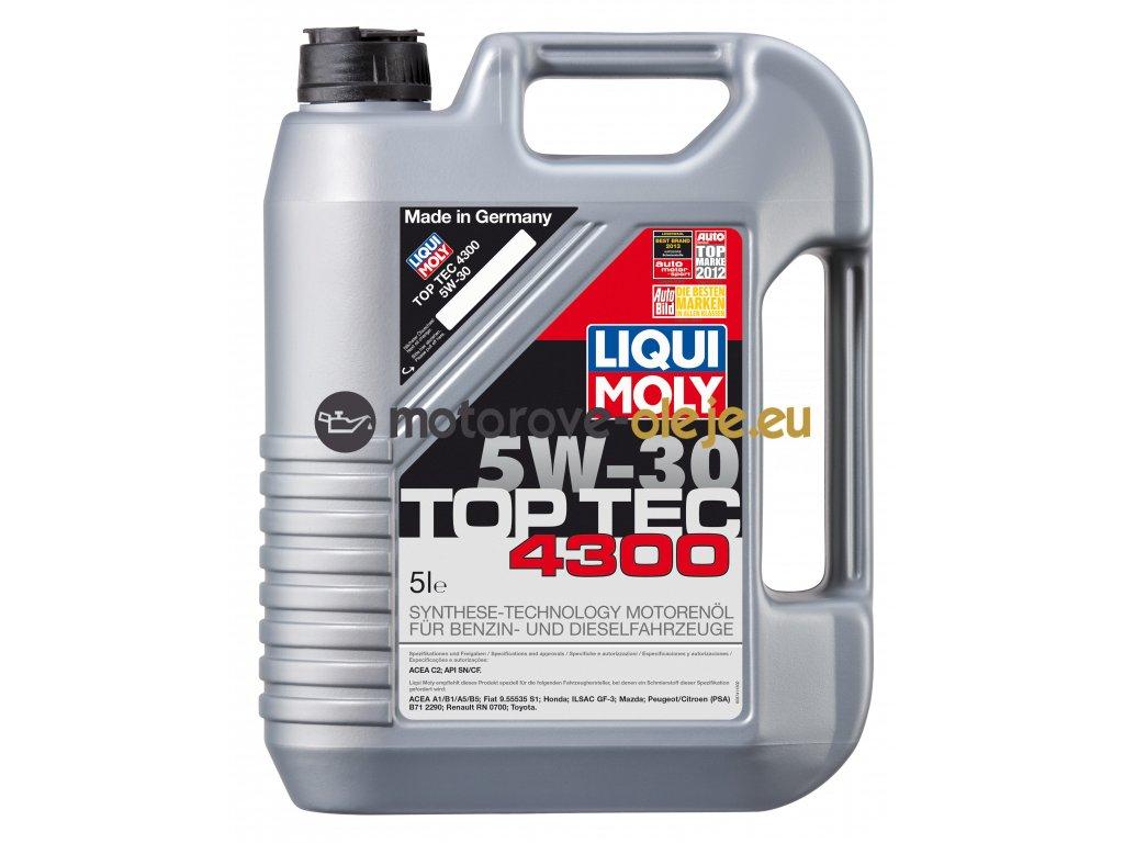 2696 liqui moly toptec 4300 5w 30 5l