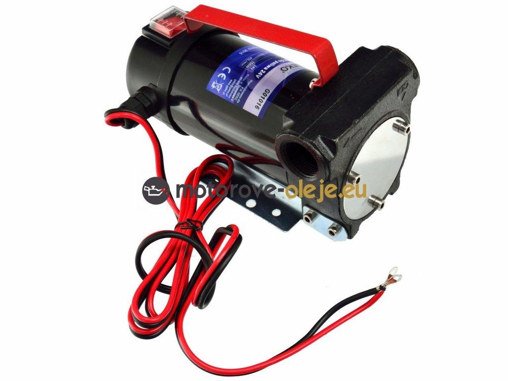 cerpadlo olej nafta 24V 40L min