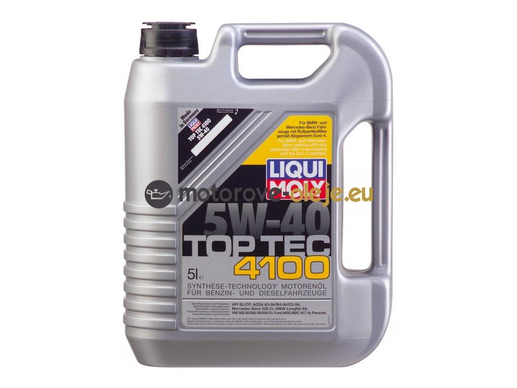 2708 liqui moly toptec 4100 5w 40 5l