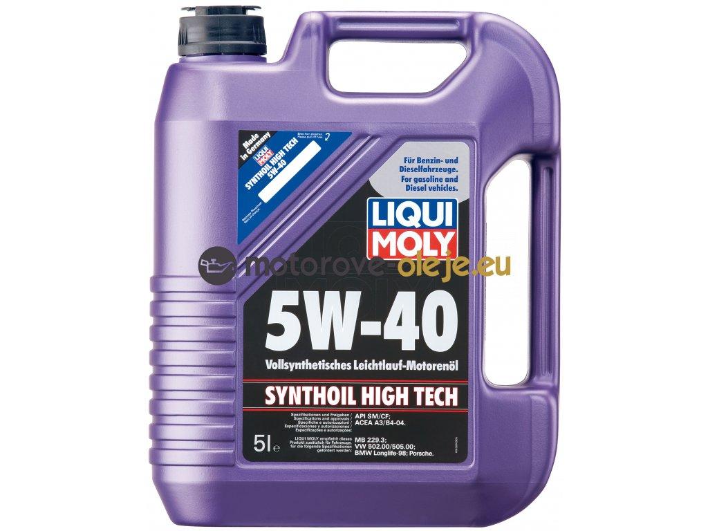 2714 liqui moly synthoil high tech 5w 40 5l