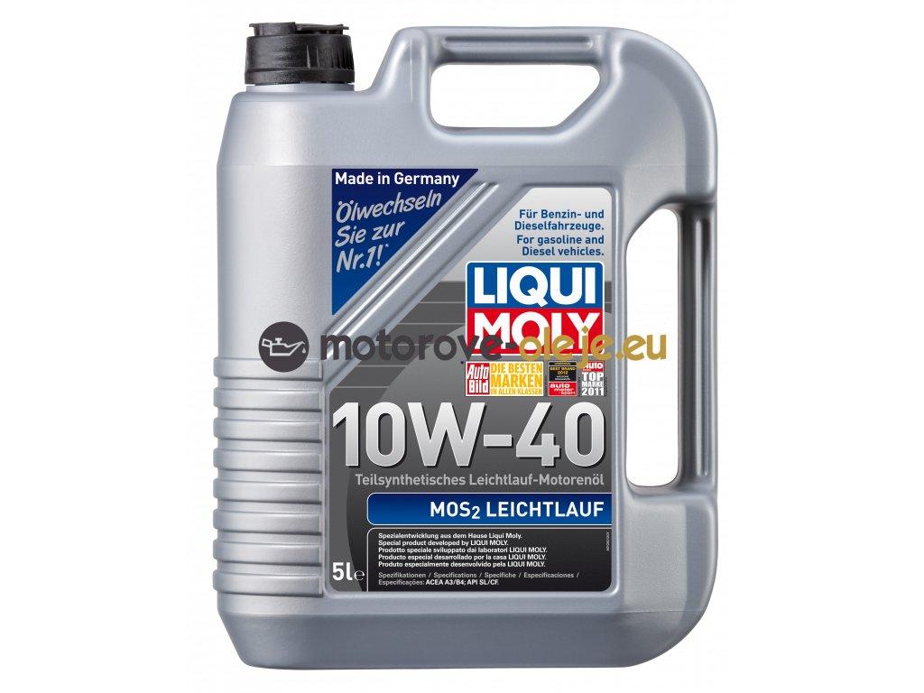 2726 liqui moly mos2 leichtlauf 10w 40 5l