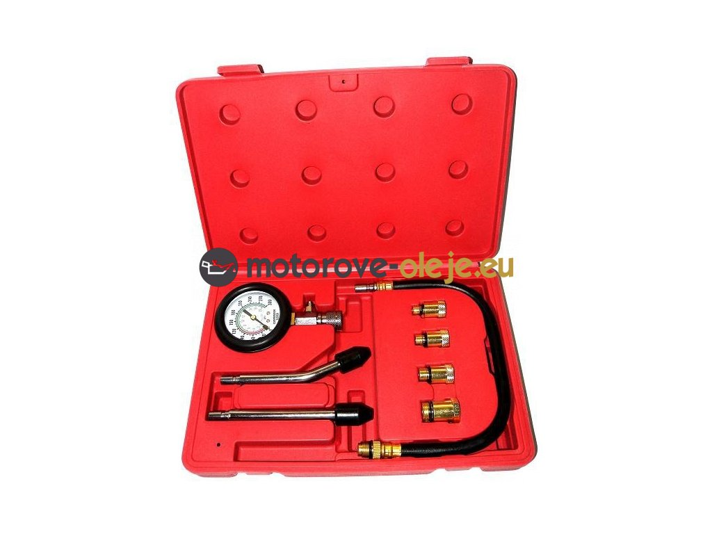 Kompresiometer pre benzínové motory - sada 8 ks