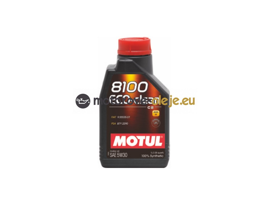 3032 1 motul 8100 eco clean 5w 30 c2 1l