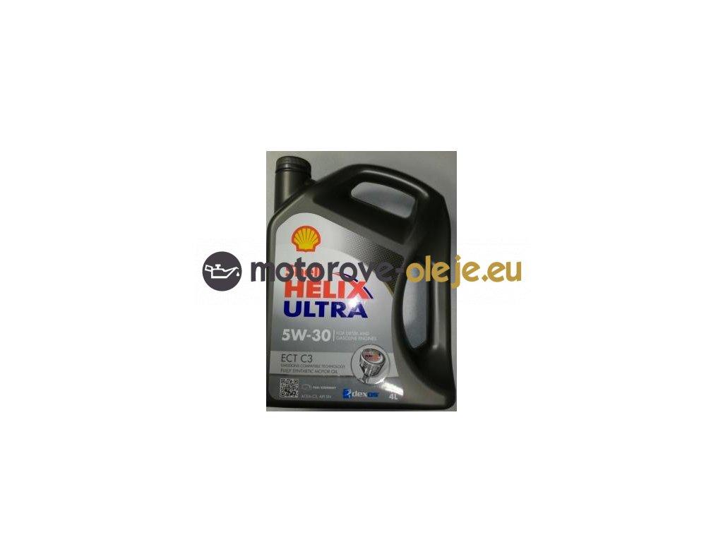 3053 shell helix ultra ect c3 5w 30 4l