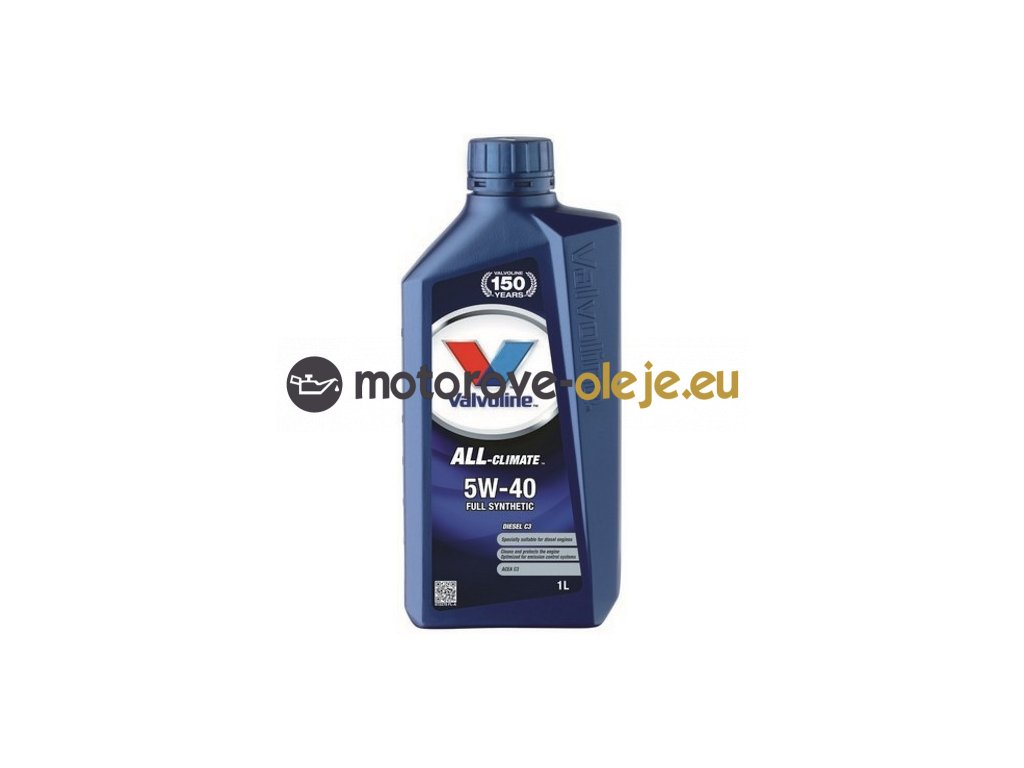 3086 valvoline all climate 5w 40 diesel c3 1l
