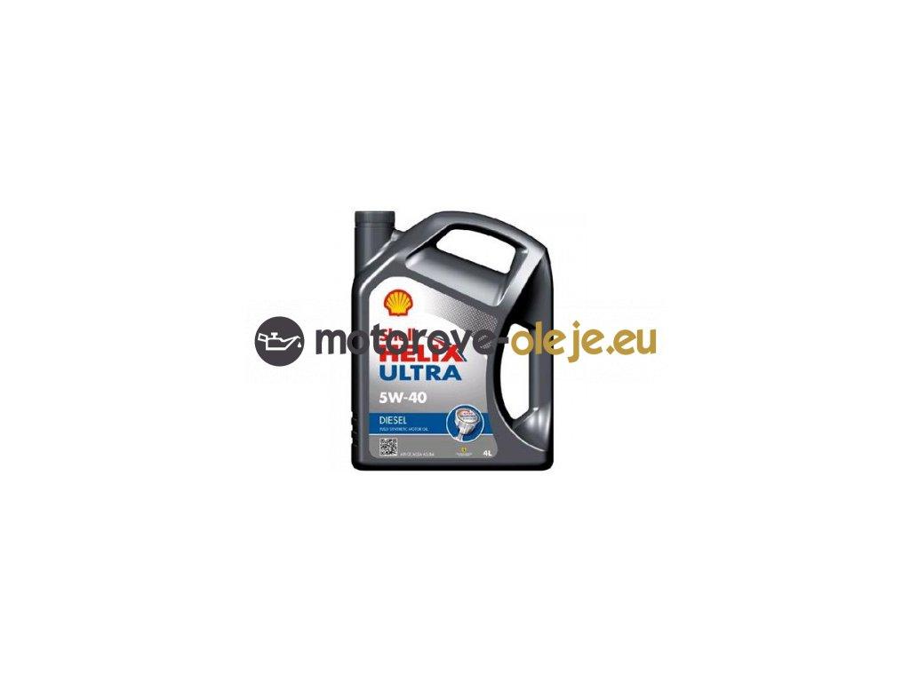 3095 shell helix ultra diesel 5w 40 4l