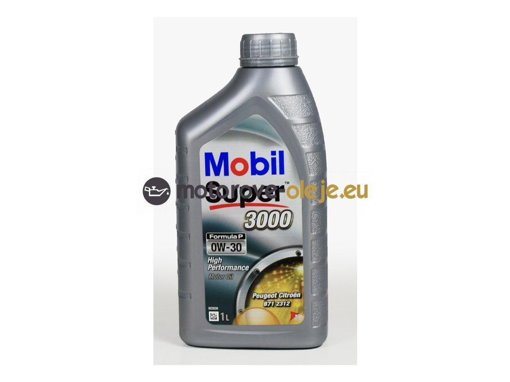 3131 mobil super 3000 formula p 0w 30 1l