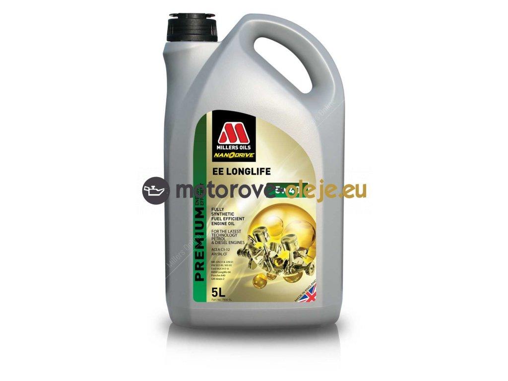 Millers Oils EE LongLife 5W-40 5L