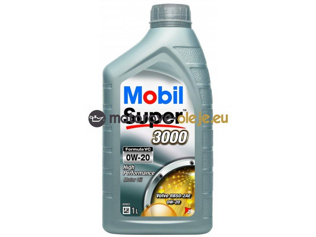 3674 mobil super 3000 formula vc 0w 20 1l