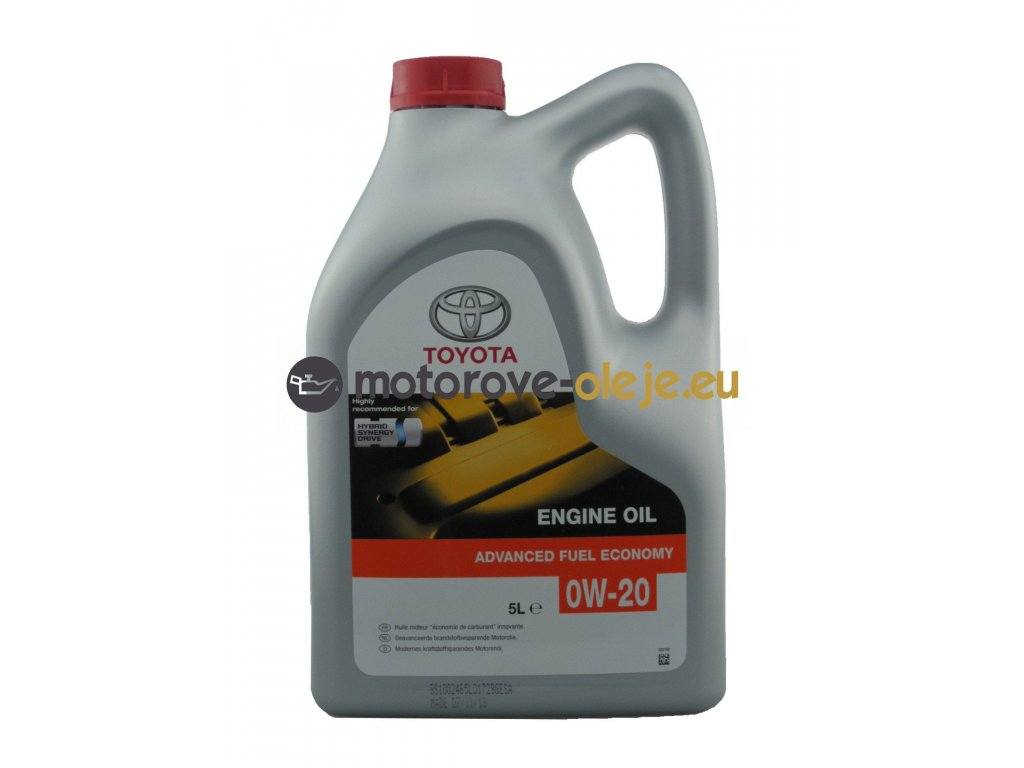 3908 toyota oil advanced fuel economy 0w 20 5l